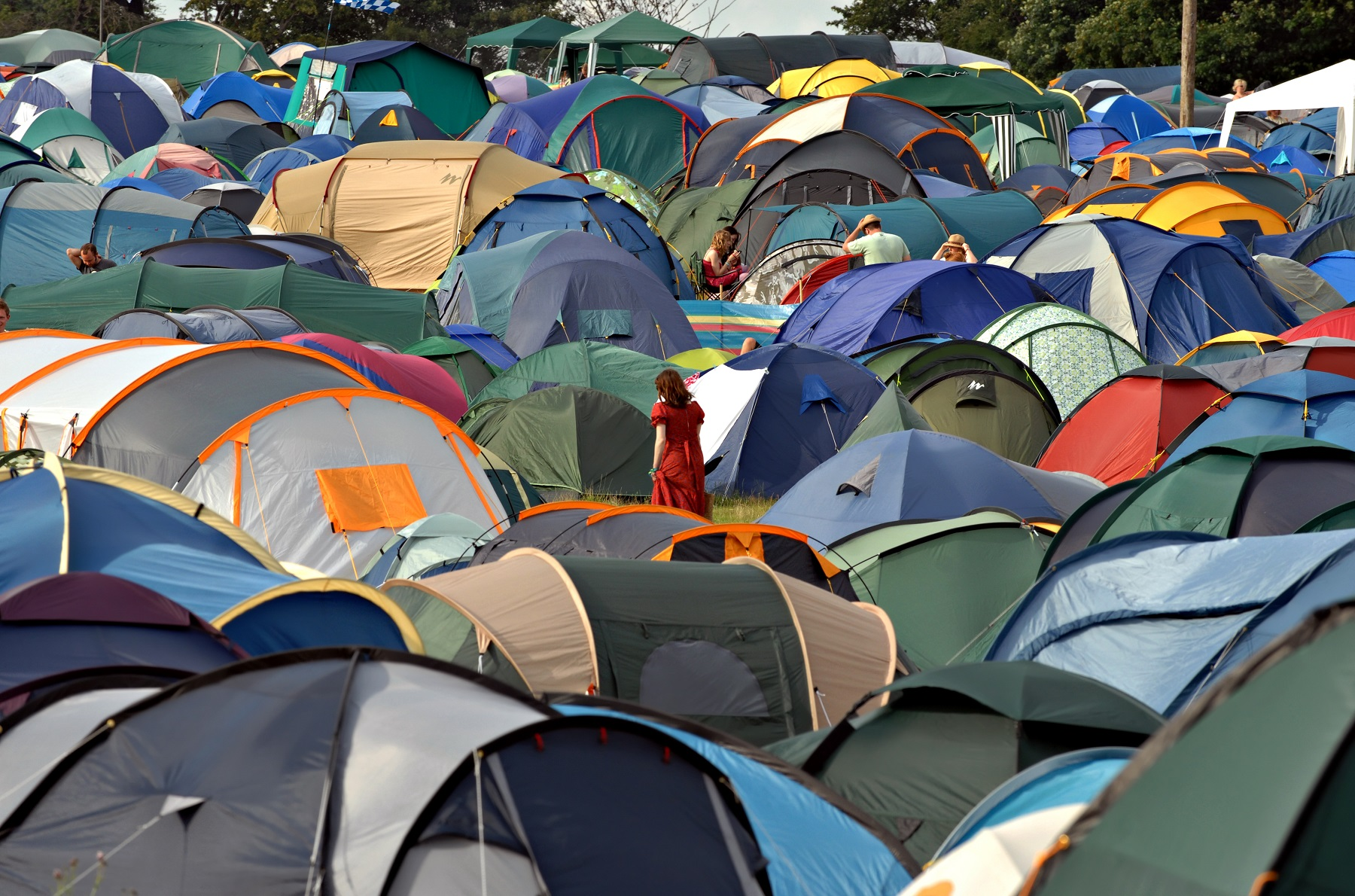 camping + festival