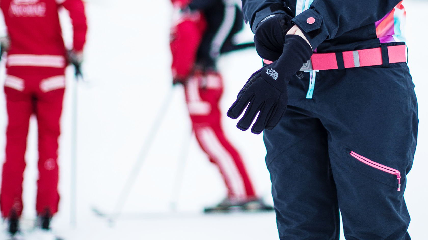 light weight ski gloves