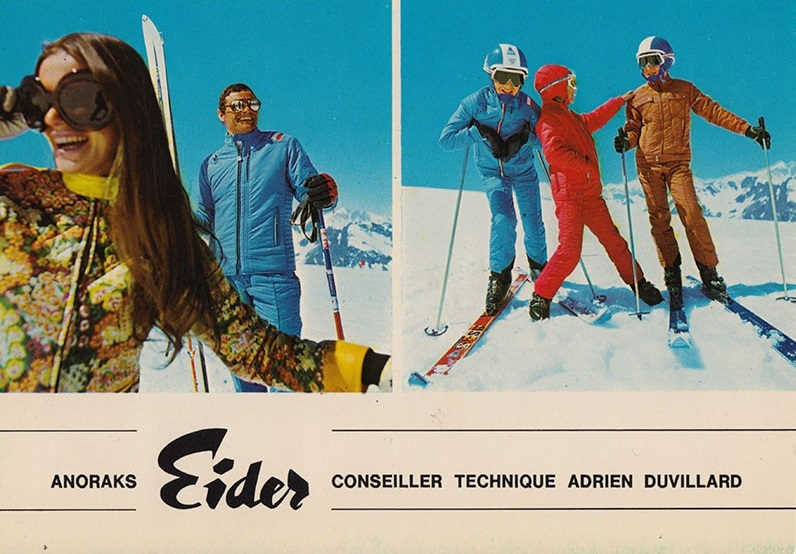 1960's ski fashion + 60's ski clothing