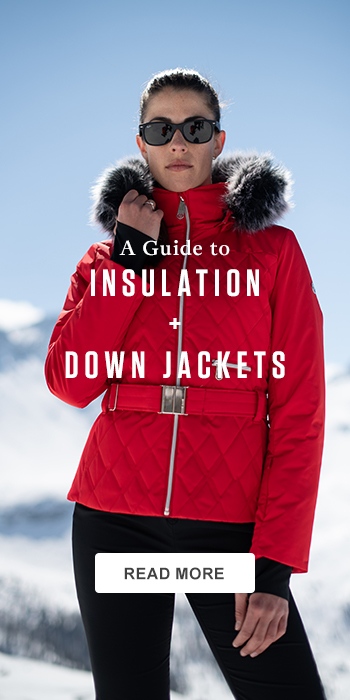A guide to insulation and down jackets